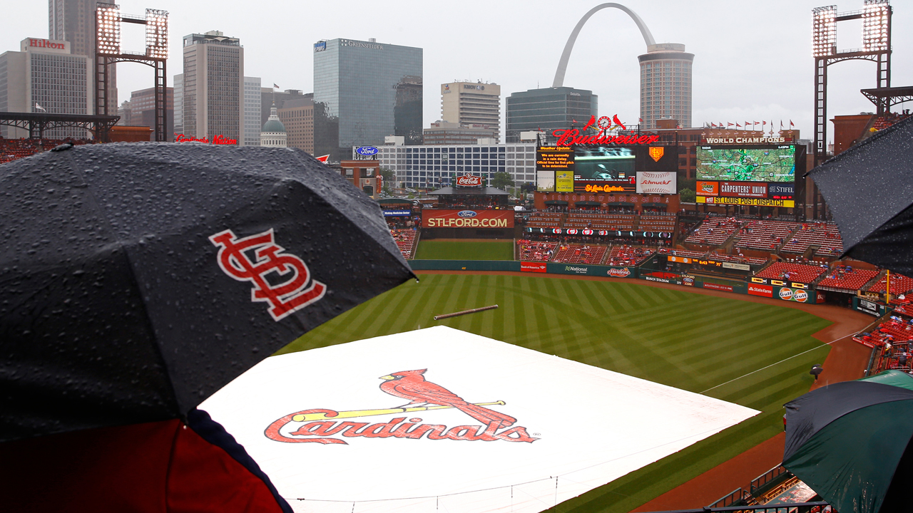 Wednesday's Blue Jays-Cards game postponed